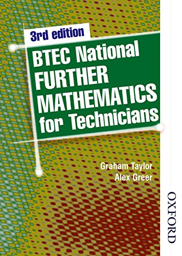 BTEC National Further Mathematics for Technicians Third: Taylor, G W;