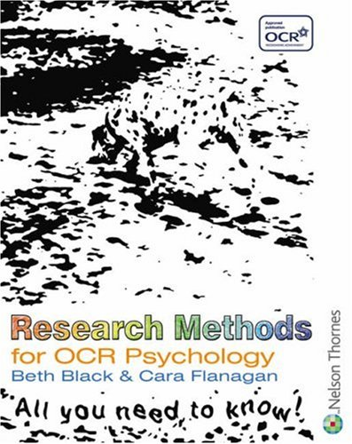 9780748794355: Research Methods for OCR Psychology: An Activity-based Approach