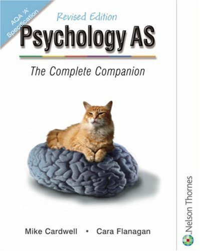 9780748794638: Psychology AS: The Complete Companion