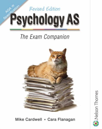 9780748794751: Psychology As : The Exam Companion
