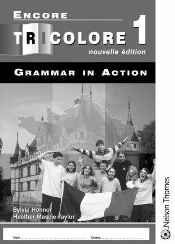 9780748794966: Encore Tricolore Nouvelle Edition 1 Grammar in Action