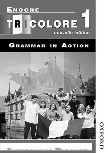 9780748794980: Encore Tricolore Nouvelle 1 Grammar in Action Pack (x8): Grammar in Action Stage 1