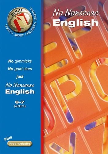 9780748795635: Bond No Nonsense English 6-7 years