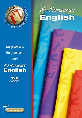 9780748795642: Bond No Nonsense English 7-8 years