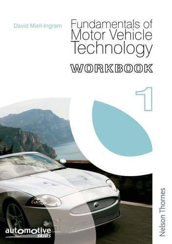 9780748795994: Fundamentals of Motor Vehicle Technology Workbook 1