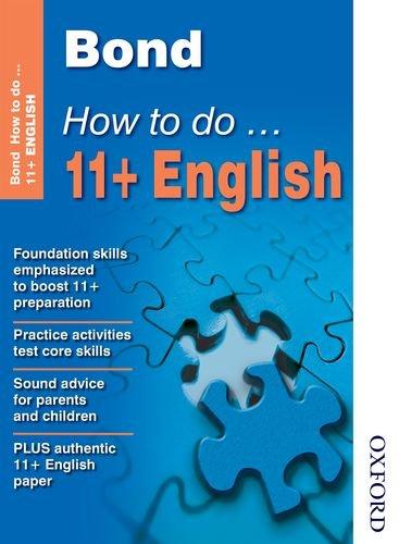 9780748796953: Bond How To Do 11+ English
