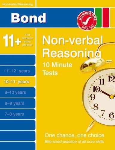 9780748796991: Bond 10 Minute Tests 10 - 11 years Non-verbal Reasoning