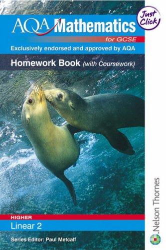 Aqa Mathematcs for Gcse (Homework Book): June Haighton