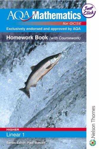 AQA Mathematics for GCSE Linear Higher 1: Thornton, Margaret and