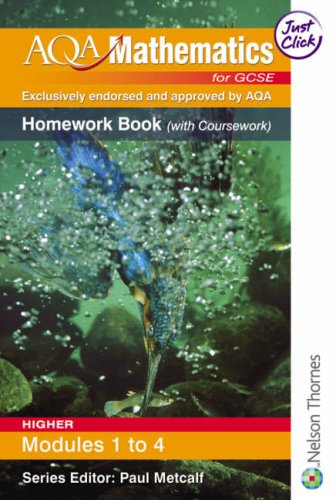 AQA Mathematics for GCSE Modular Higher Homework: Thornton, Margaret and