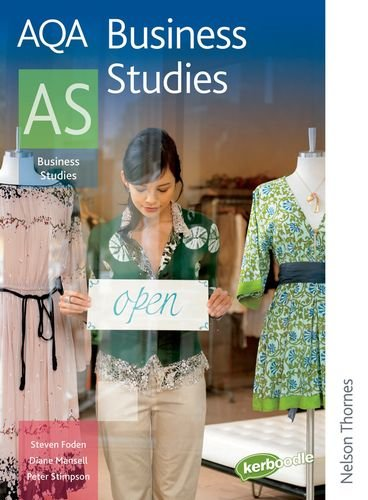 9780748798469: AQA Business Studies AS (Aqa for As)