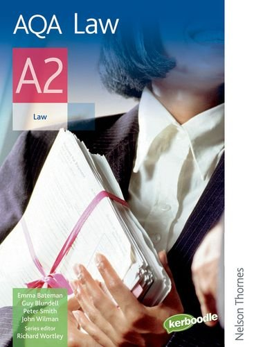 9780748798667: AQA Law A2: Student's Book