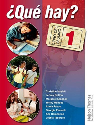 Que Hay? (Book & Audio CD's): Christine Haylett