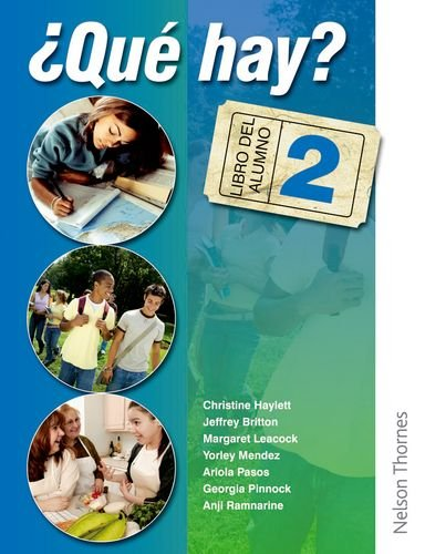 9780748798797: ¿Que Hay? Libro del Alumno 2: Junior Secondary Spanish for the Caribbean: Student's Book and Audio CD Level 2