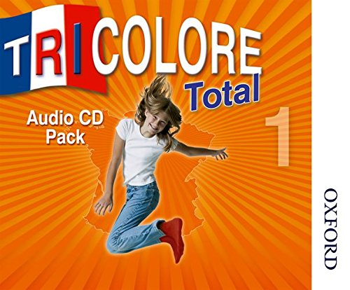 9780748799909: Tricolore Total 1 Audio CD pack (5x Class CDs 1x Student CD)