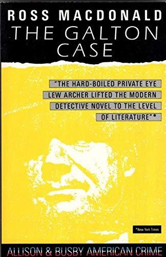 9780749000103: The Galton Case