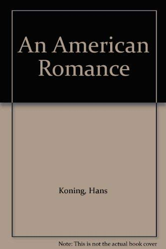 9780749000257: An American Romance