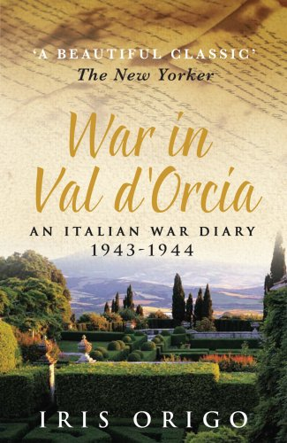 9780749004231: War in Val D'Orcia : 1943-44 - A Diary