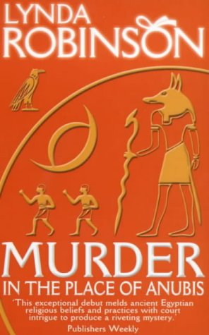 9780749004965: Murder in the Place of Anubis: The First Lord Meren Mystery
