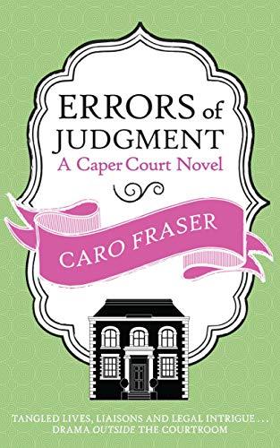 9780749014728: Errors of Judgment (Caper Court)