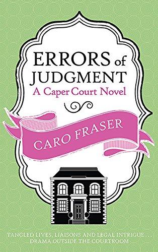 9780749015923: Errors of Judgment (Caper Court)