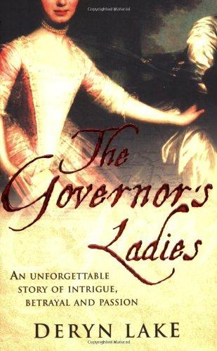 9780749082338: The Governor's Ladies