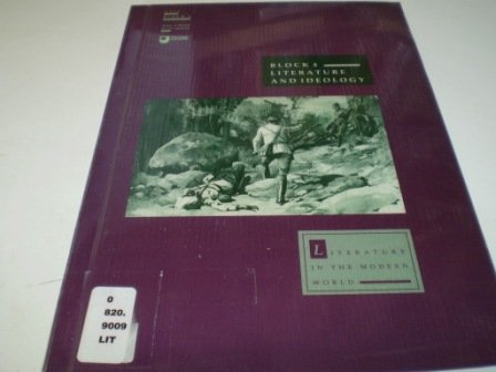 9780749210359: Literature in the Modern World: Introduction (Course A319)