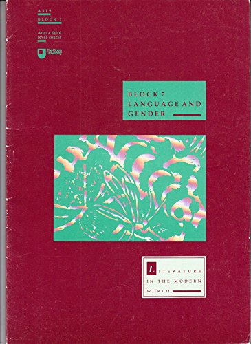 Literature in the Modern World: Language and: Birch, David and