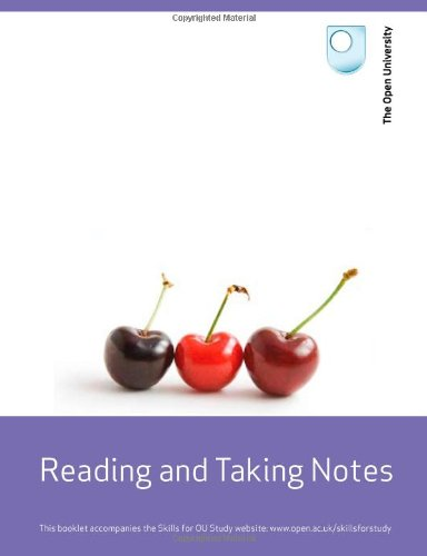 9780749212667: Reading and Taking Notes