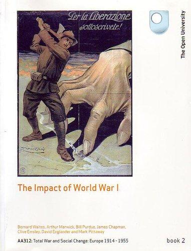 The Impact of World War 1 (0749216948) by J. Chapman; C. Emsley; D. Englander; A. Marwick; M. Pittaway; B. Waites