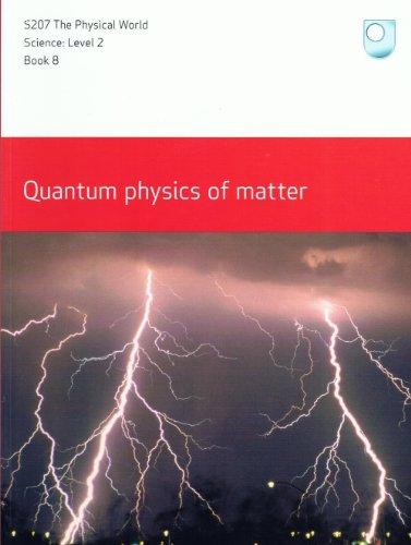 9780749219192: Quantum Physics of Matter