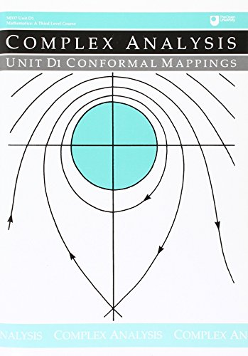 9780749221867: Conformal Mappings: Unit D1 (Course M337)