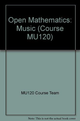 9780749222352: Open Mathematics: Music (Course MU120)