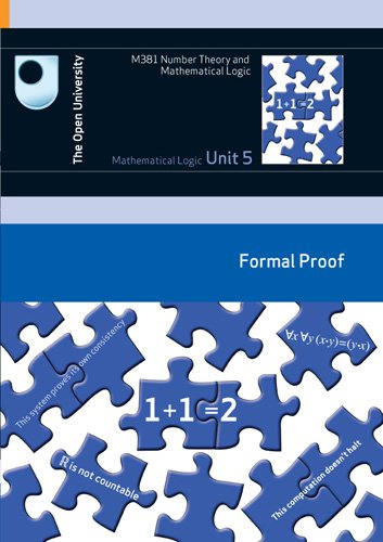 9780749222710: Mathematical Logic: Formal Proof
