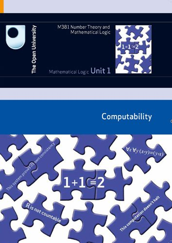 Mathematical Logic: Computability (0749222808) by Open University Course Team