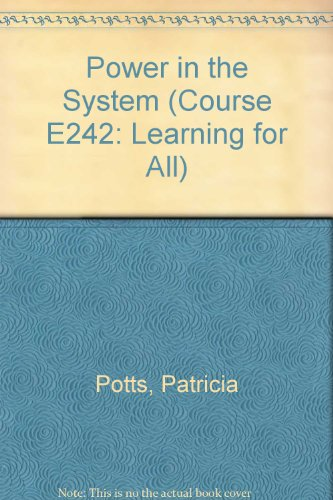 Learning for All Unit 14: Power in the System