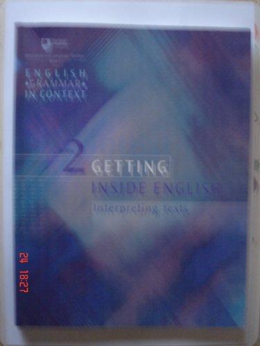 9780749266035: English Grammar In Context: Book 2 - Getting Inside English (Interpreting Texts)