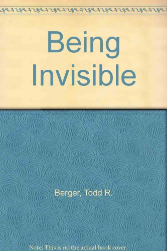 Being Invisible: Thomas Berger