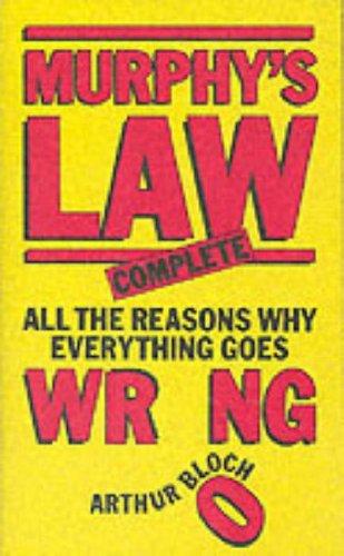 9780749301460: Murphy's Law Complete (Mandarin Humour)