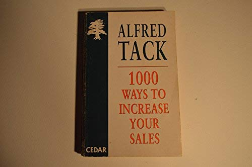 9780749305680: 1000 Ways to Increase Your Sales