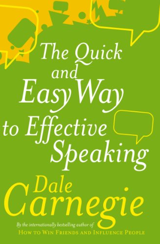9780749305772: The Quick And Easy Way To Effective Speaking