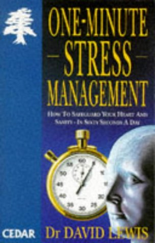 9780749312145: One Minute Stress Management (Cedar Books)