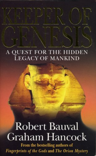 9780749321963: Keeper of Genesis: A Quest for the Hidden Legacy of Mankind