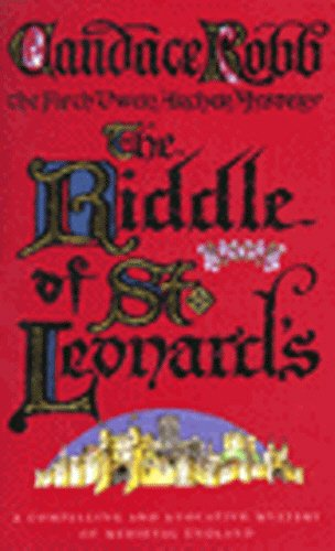 9780749323653: The Riddle Of St. Leonard's (Owen Archer Mystery)
