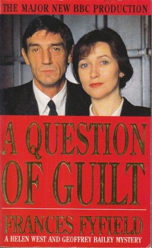 9780749336097: A Question of Guilt