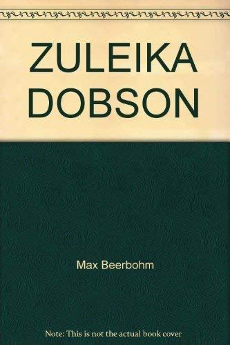 9780749399160: Zuleika Dobson