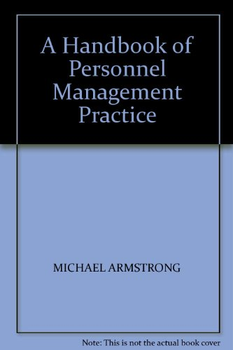 9780749402266: A Handbook of Personnel Management Practice