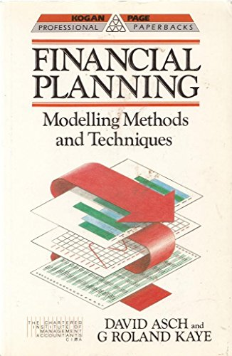 9780749402471: Financial Planning: Modelling Methods and Techniques (Professional Paperbacks)