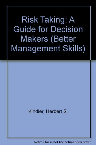9780749403140: Risk Taking: A Guide for Decision Makers (Better Management Skills)