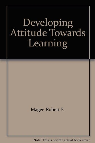 9780749405908: Developing Attitude Towards Learning